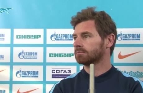 Брифинг Андре Виллаш-Боаша перед матчем с «Уралом»