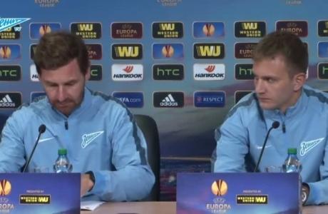 Брифинг Андре Виллаш-Боаша и Доменико Кришито перед матчем с «Торино»