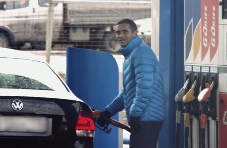 Футболисты «Зенита» стали сотрудниками заправки
