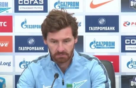 Пресс-конференция Андре Виллаш-Боаша после матча с ЦСКА