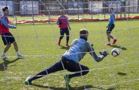 Открытая тренировка «Зенита» перед матчем с«Рубином»