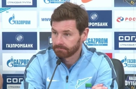 Пресс-конференция Андре Виллаш-Боаша после матча с «Рубином»