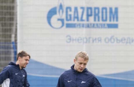 Открытая тренировка «Зенита» перед матчем со «Спартаком»