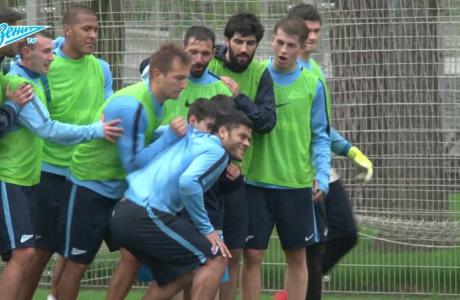 «Зенит-ТВ»: открытая тренировка перед «Ростовом»