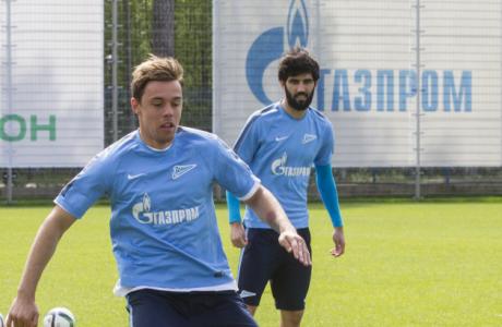 Открытая тренировка «Зенита» перед матчем с «Уфой»