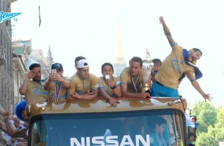Скрытая камера «Зенит-ТВ»: день чемпионского матча (часть 2)