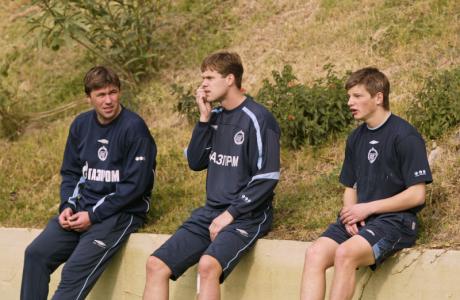 Футболист футбольного клуба «Зенит» Генадий Попович