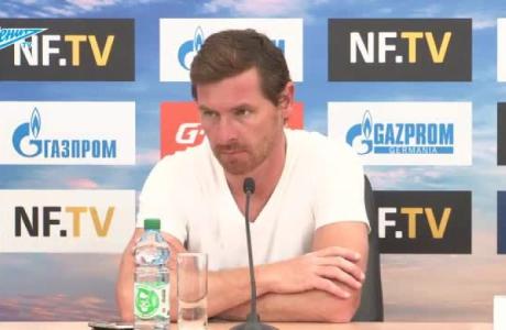 Пресс-конференция Андре Виллаш-Боаша после матча с «Динамо»