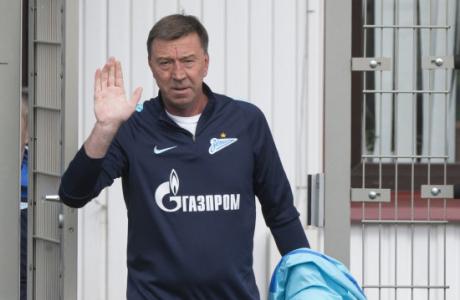 Открытая тренировка «Зенита», перед матчем с «Уралом»