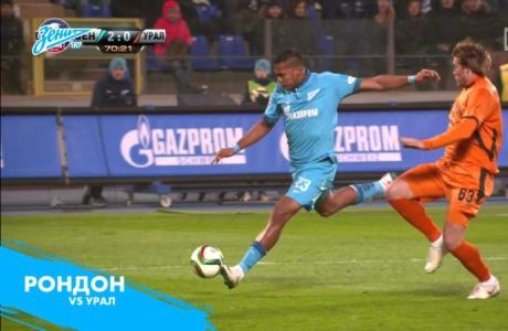 Десять лучших голов Саломона Рондона на «Зенит-ТВ»
