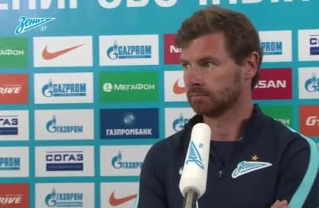 Брифинг Андре Виллаш-Боаша перед матчем с «Рубином»