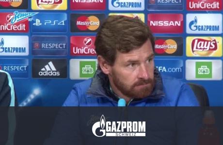 Пресс-конференция Андре Виллаш-Боаша после матча с «Гентом»