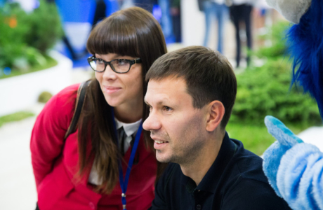 Автограф-сессия Константина Зырянова, полузащитника «Зенита»