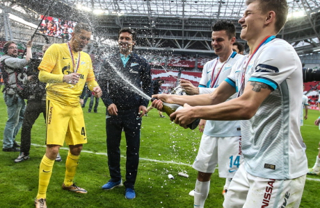 FC Zenit St Petersburg wins 2016 Russian Football Cup