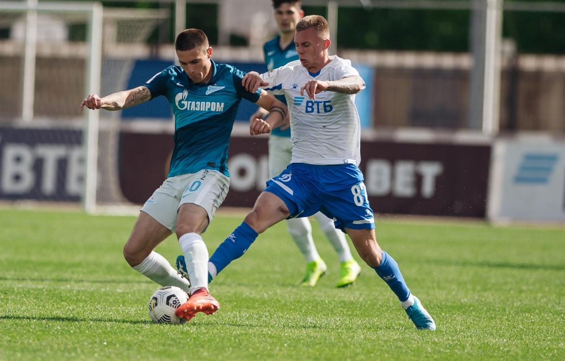 «Динамо»-2 – «Зенит»-2: сине-бело-голубые вдесятером вырывают ничью